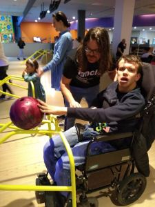 Monday February 17th 2020, Developing Independence 3 – bowling