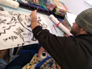 Thursday 6th February 2020, CoCoCreatives – Chinese Brush Painting.