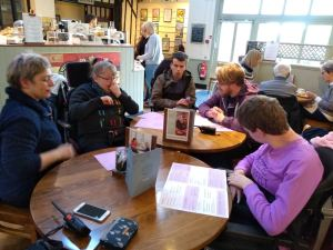Thursday 27th February 2020, Personal progress 2 – Soundboard and Tiptree afternoon tea.