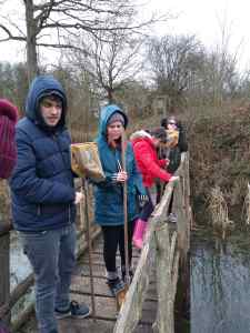 Tuesday 4th February 2020, Sports Adventure 3 and 4 – Fingringhoe Wick Pond Dipping, Bird Spotting and Nature Walk