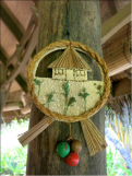 Zero waste Christmas tree decorations at Coco Palm Dhuni Kolhu