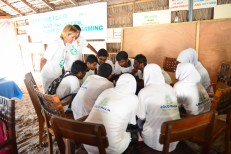 Group activities among the students at Coco Palm Dhuni Kolhu