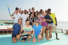 The associates of Coco Bodu Hithi are always ready for an adventure