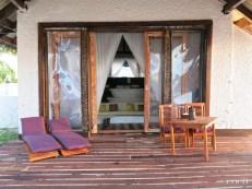 As beautiful as it is: Coco Bodu Hithi Island Villa's veranda