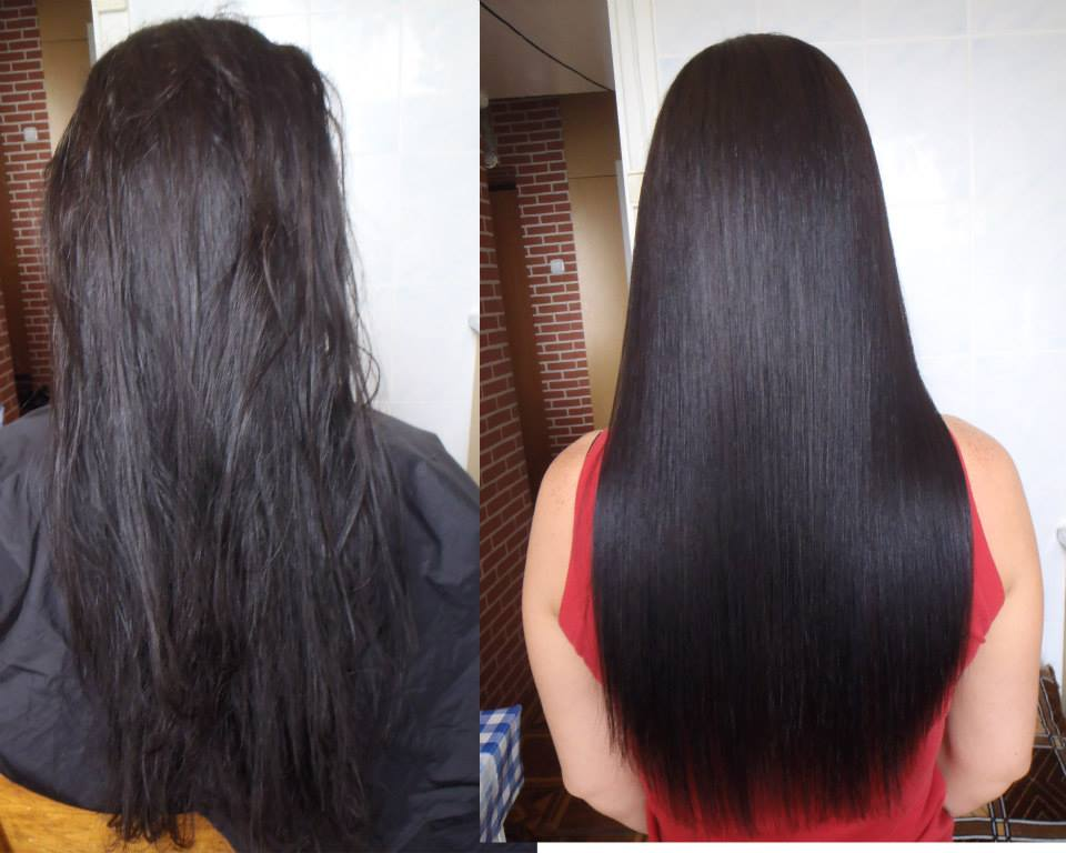Brazilian Hair Straightening Cocochoco