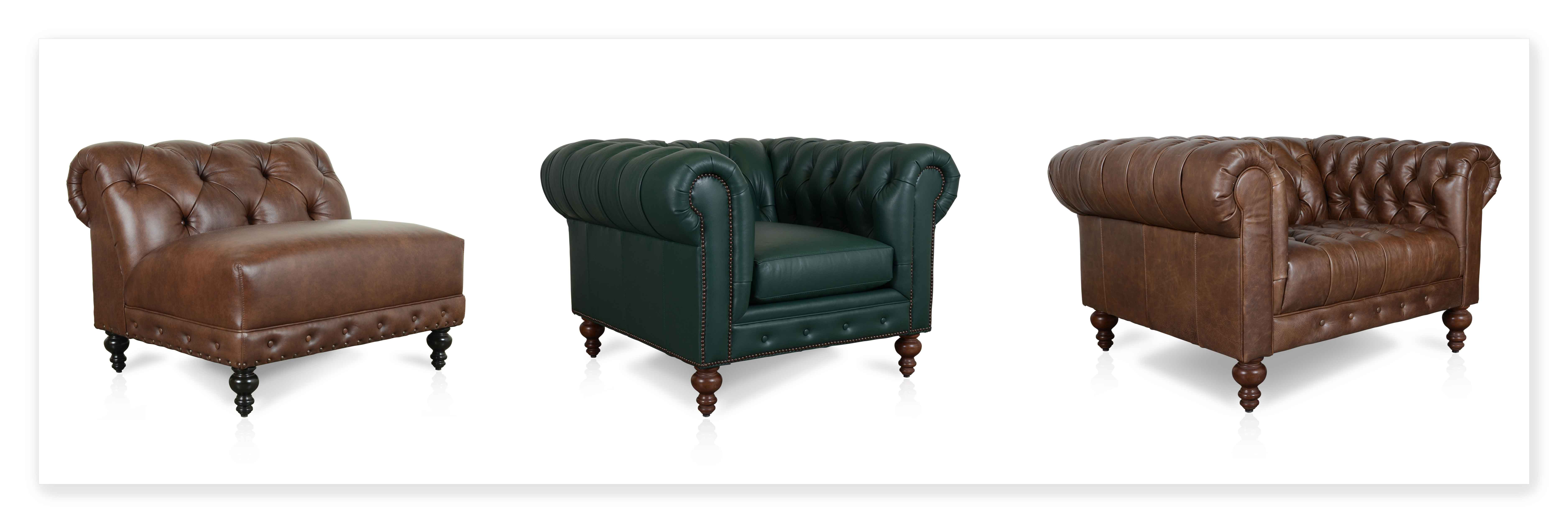 Leather Chesterfield Chair Cococo Custom Chesterfield Leather Tufted Sofas Made In Usa
