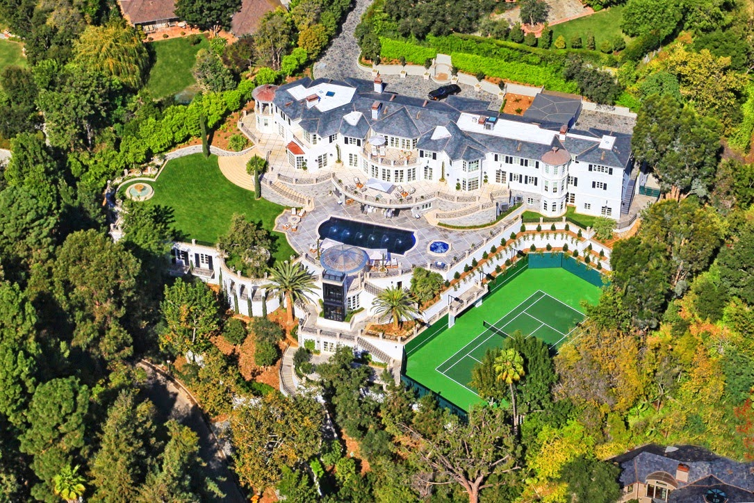 65 Million Dollar Bel Air Estate See This House Cococozy