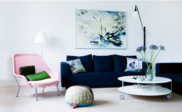 BLUE VELVET SOFA - CHEAP TO CHIC | COCOCOZY