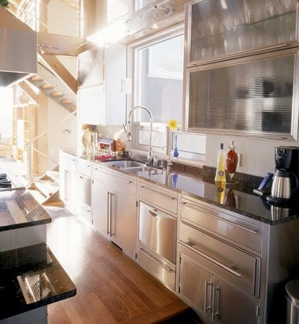 THIS OR THAT: STAINLESS STEEL KITCHEN CABINETS! | COCOCOZY