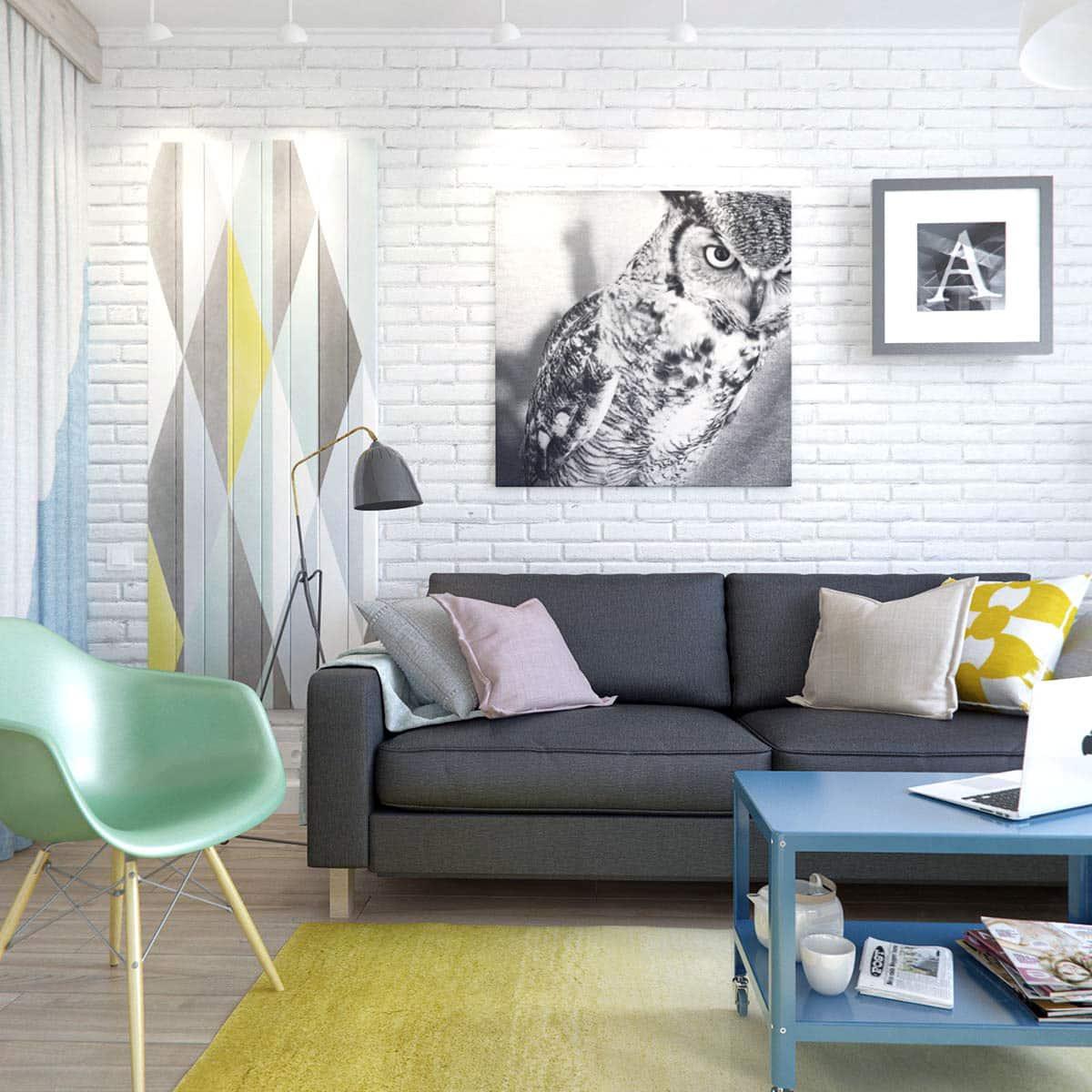 small russian studio apartment 500 square feet in pastel cococozy