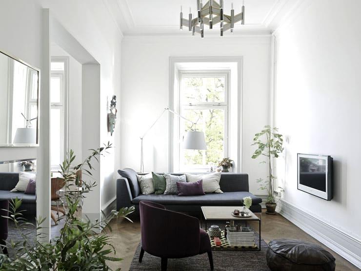 Living room ideas - Sweden apartment
