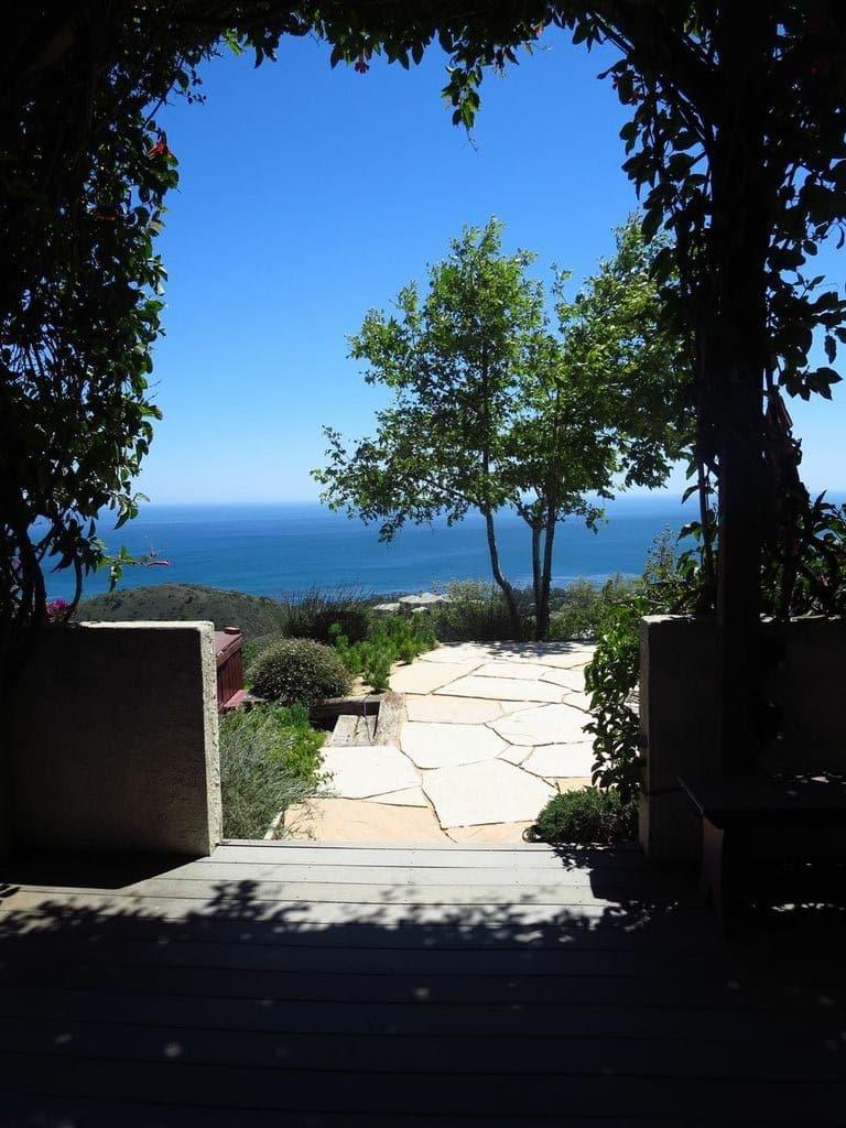 Ocean view malibu home