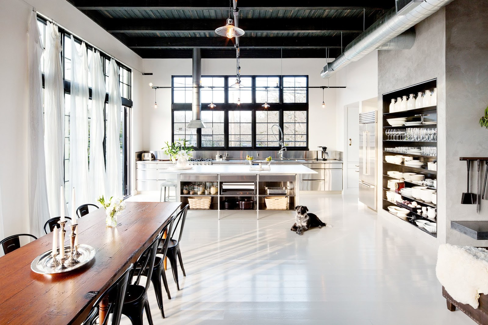 Industrial Sleek Loft Living In Portland Cococozy