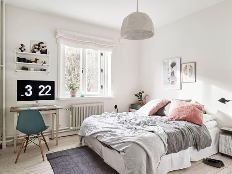 Pink Grey Bedroom Cocolapine Cococozy