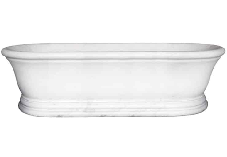 Estate -marble freestanding bathtub