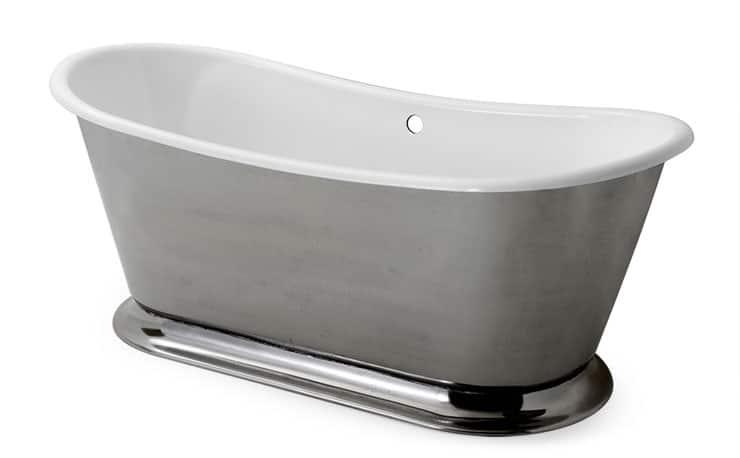 best freestanding bathtubs cast iron metal white enamel Waterworks