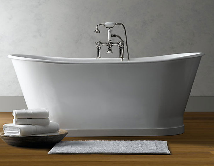 Attrayant ... Best Freestanding Bathtubs PIEDMONT PEDESTAL SOAKING TUB Restoration  Hardware ...