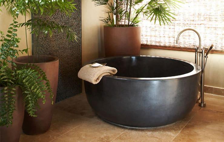 best freestanding bathtubs custom concrete round tub