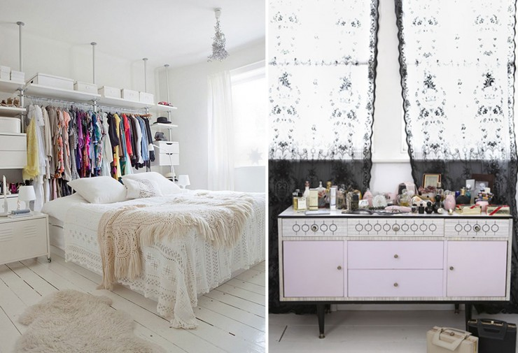 boho-bedroom-black-lace-curtains-aulitfinelinens-rachel-whiting-cococozy