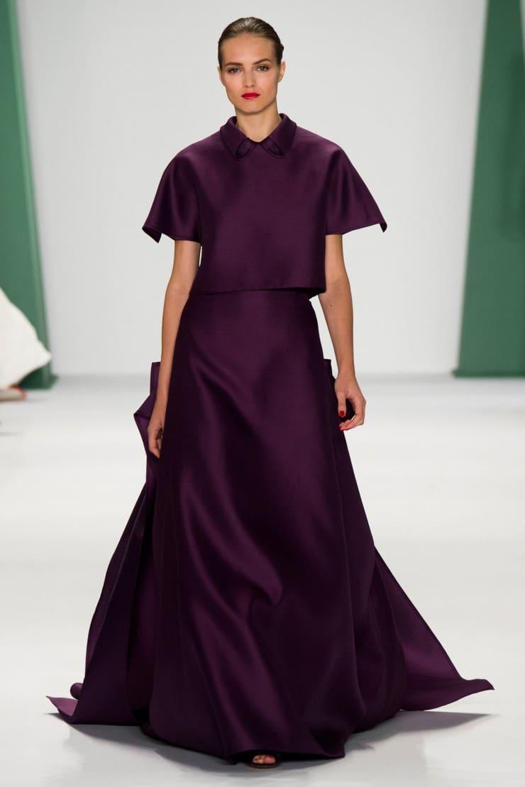 Fashion Carolina Herrera Dior Spring 2015