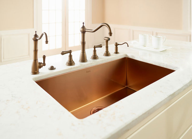 ROHL-Single-Bowl-Luxury-Stainless-Copper-Kitchen-Sink-cococozy