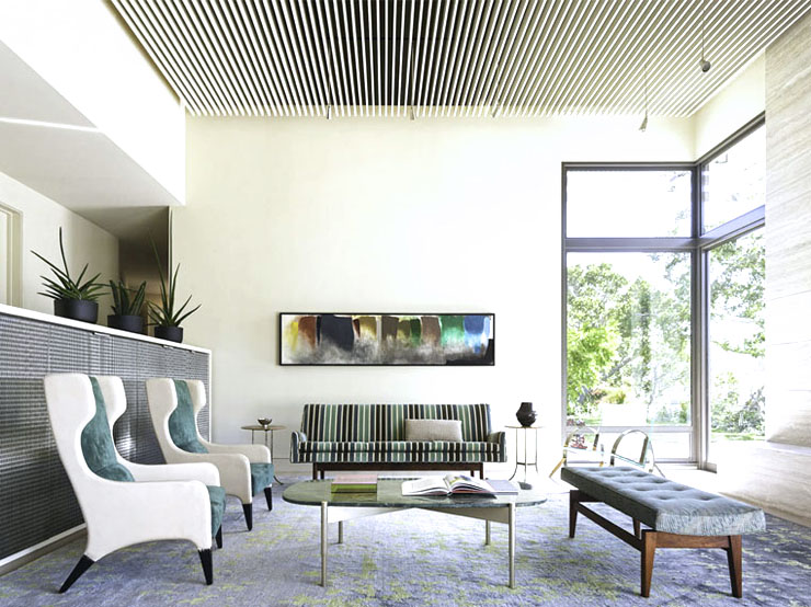 Gio ponti chairs midcentury modern furniture design for Modern stools for living room