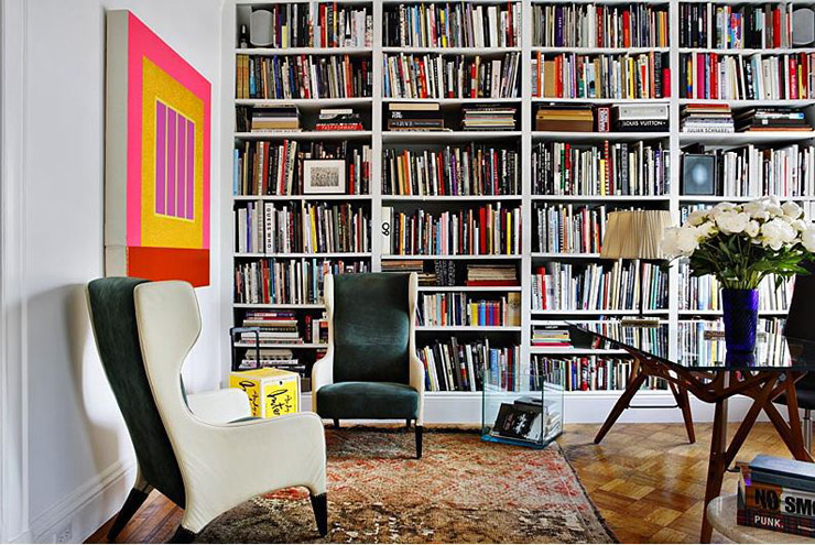 Gio Ponti Chairs Library