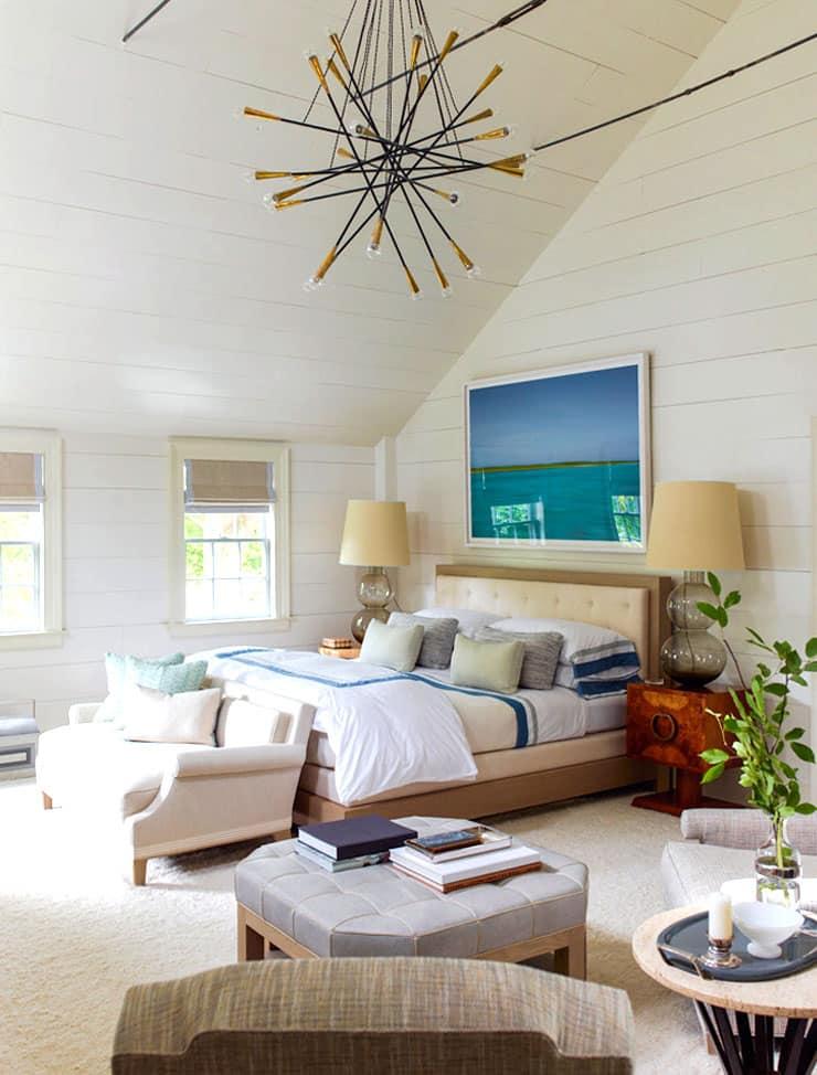 Sag Harbor Home Tour Steven Gambrel Master Bedroom