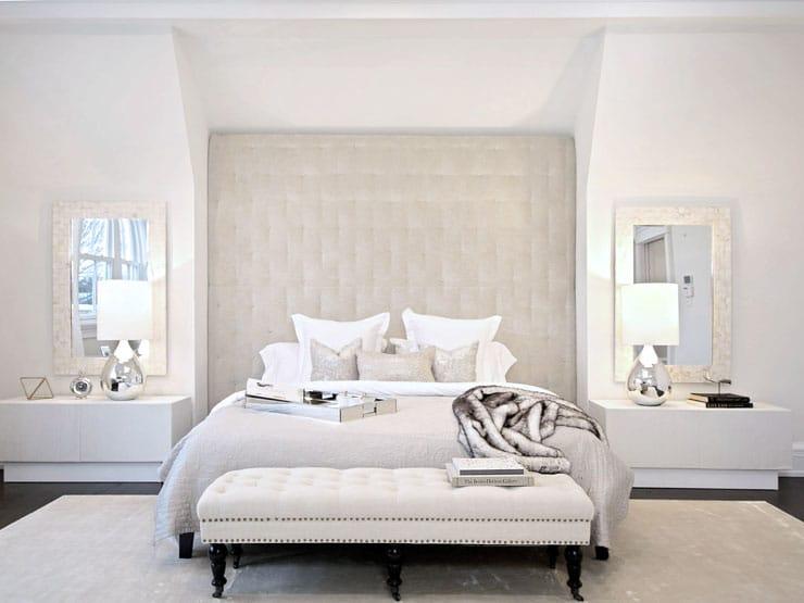 House Tour Bridgehampton Beauty Master Bedroom Headboard