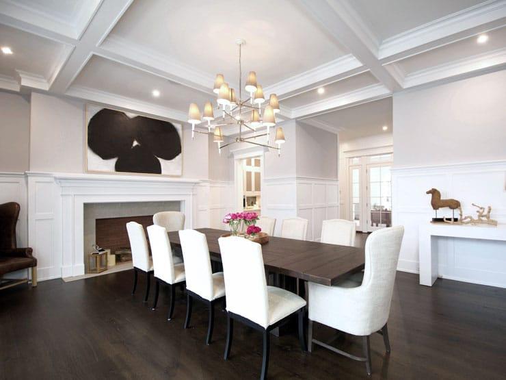 House Tour Bridgehampton Beauty Dining Room