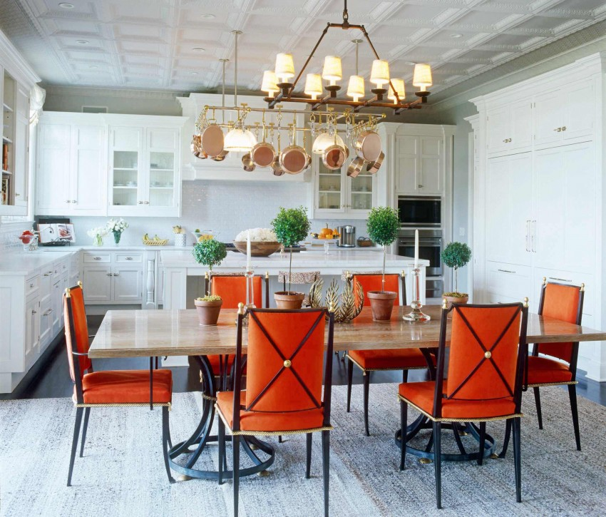 Open Kitchen Design  Dining Room Combo