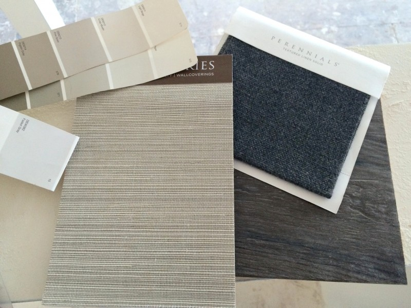 Malibu Home Renovation Swatches Samples