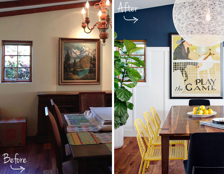 Beach House Remodel - Before and After