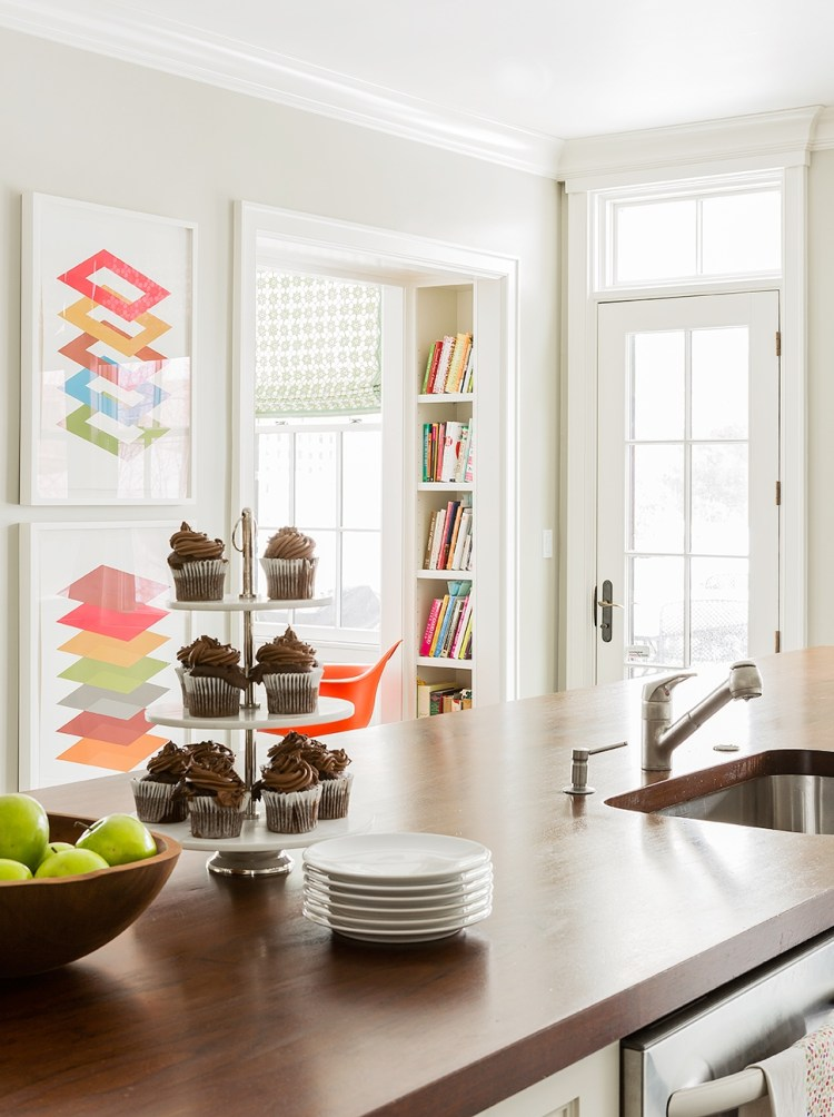 decorating ideas bright colorful kitchen accents