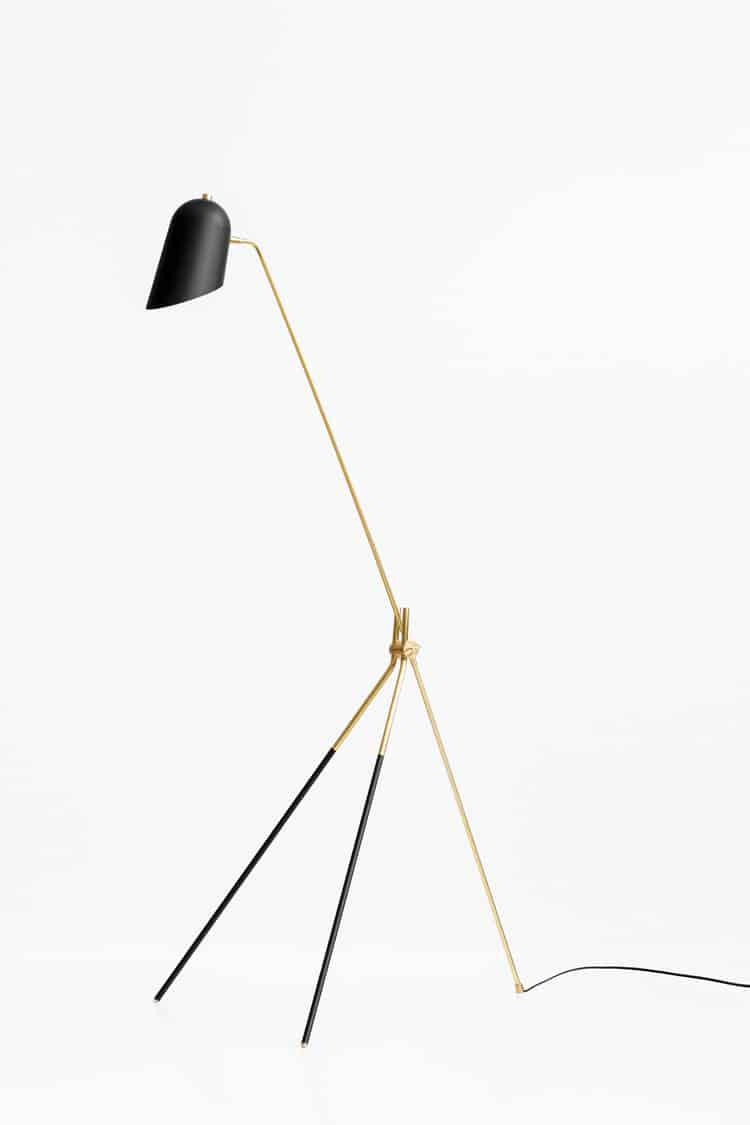 lambert et fils lighting cliff floor lamp brass black metal cococozy