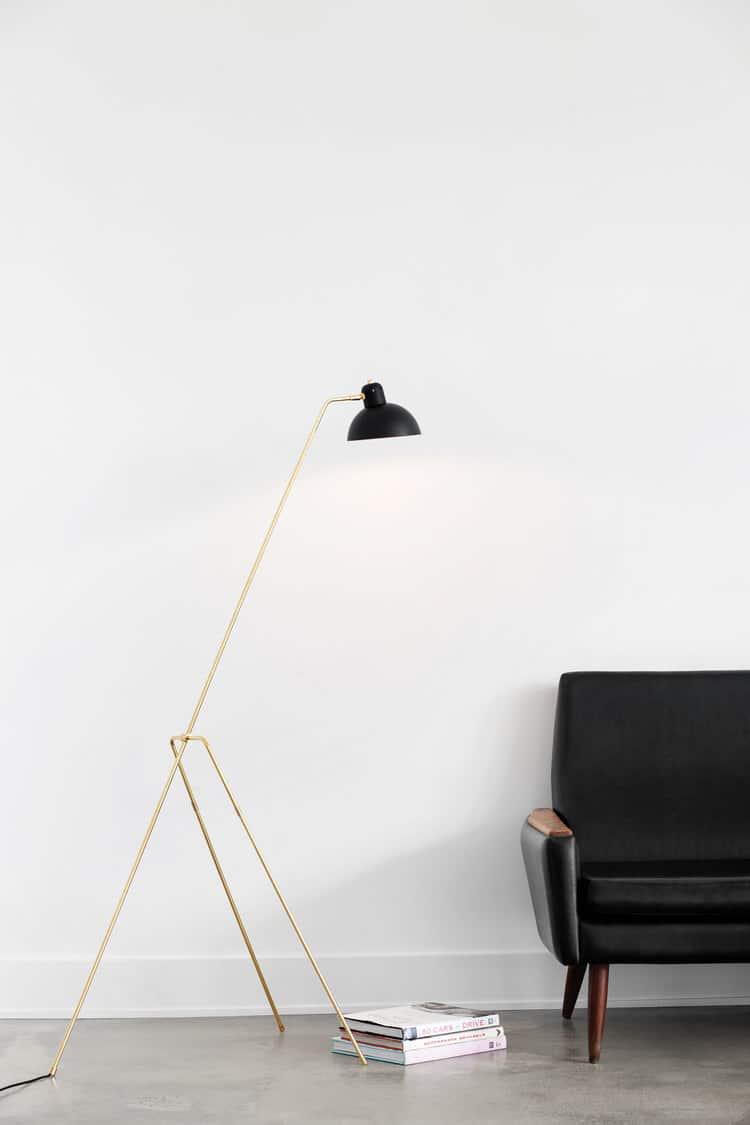 lambert et fils lighting crane floor lamp cococozy