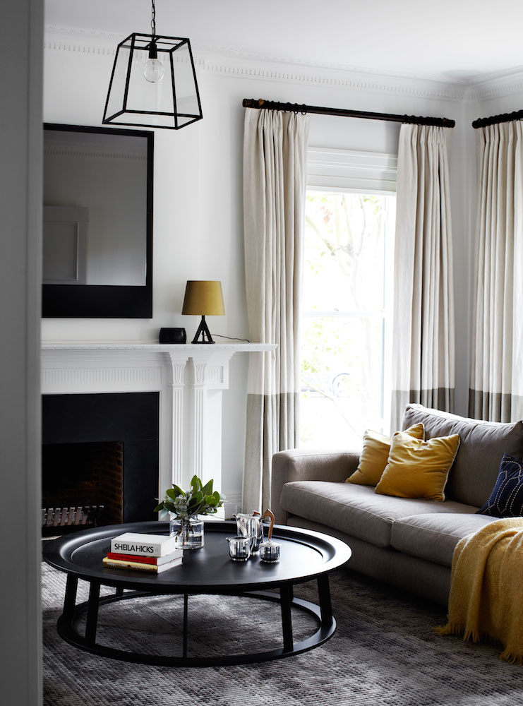 Yellow home design ideas living room