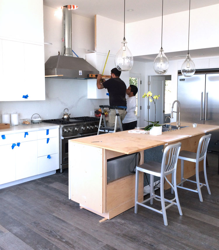malibu home renovation kitchen