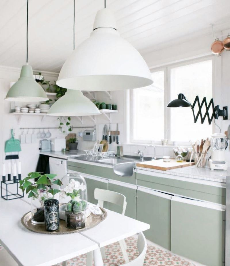 Pastel Country Kitchen