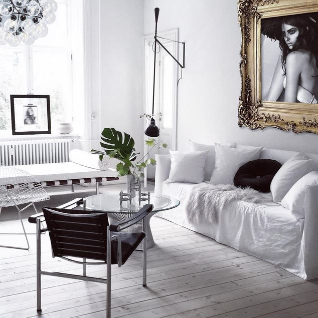 white living room cococozy