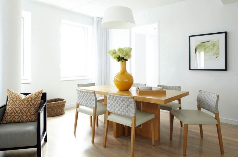 Yellow home design ideas dining room