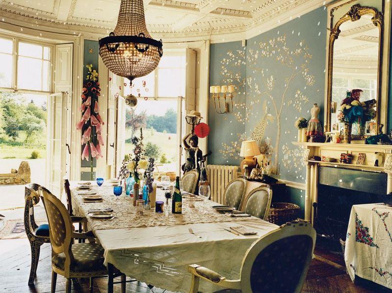 alice temperley bohemian dining room