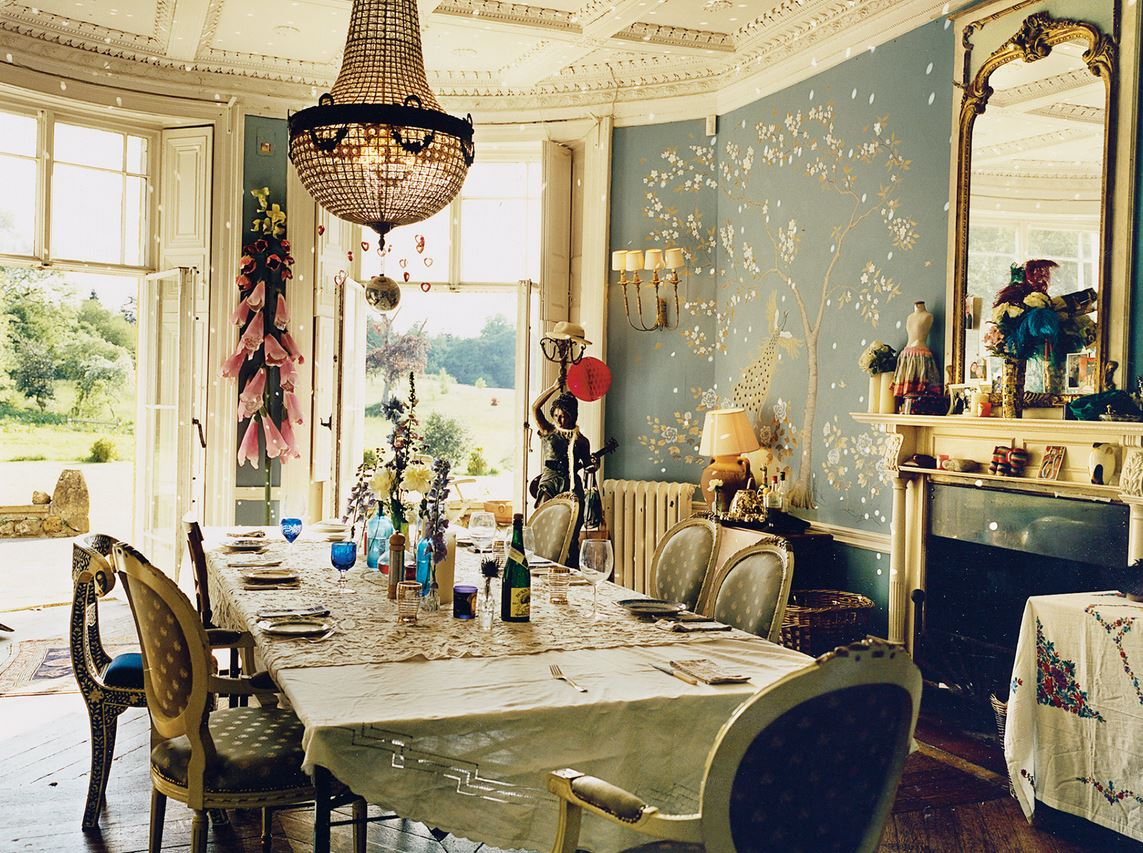 Alice Temperley Bohemian Dining Room