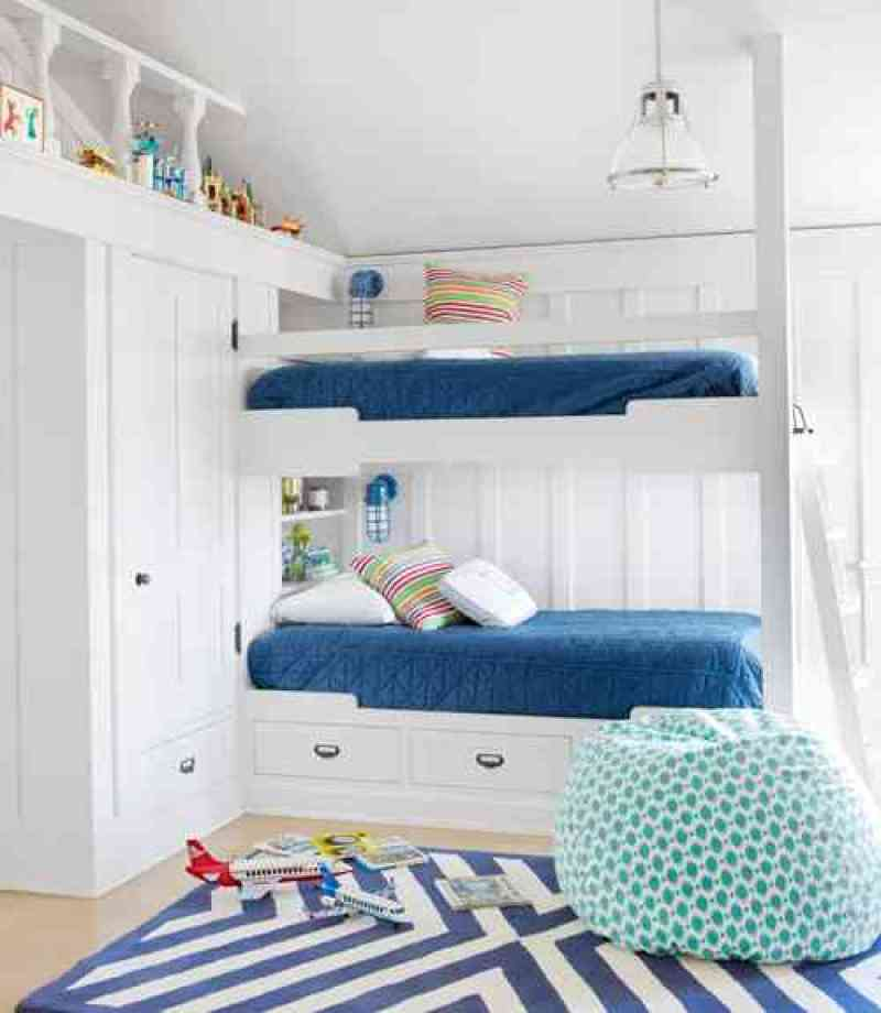 Blue Kids Room: 8 Cute Bunkrooms - Bunk Bed Bliss