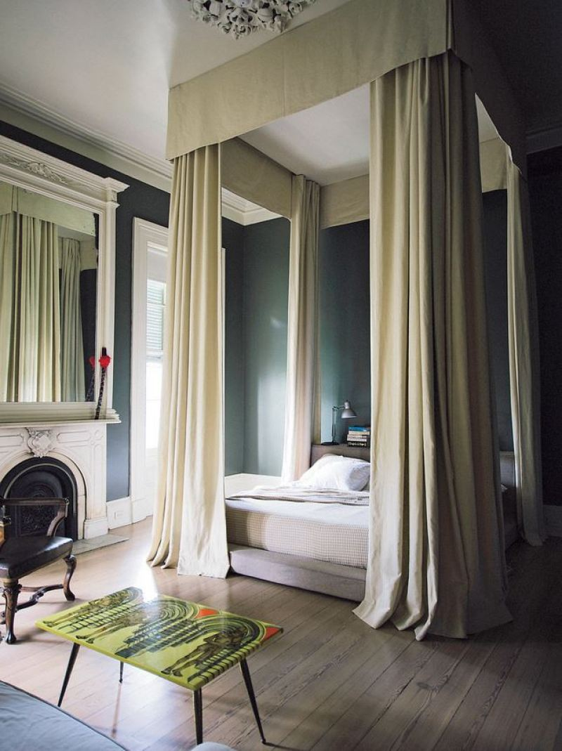 Canopy Bed New Orleans Home Nyt Cococozy Paul Sara Costello