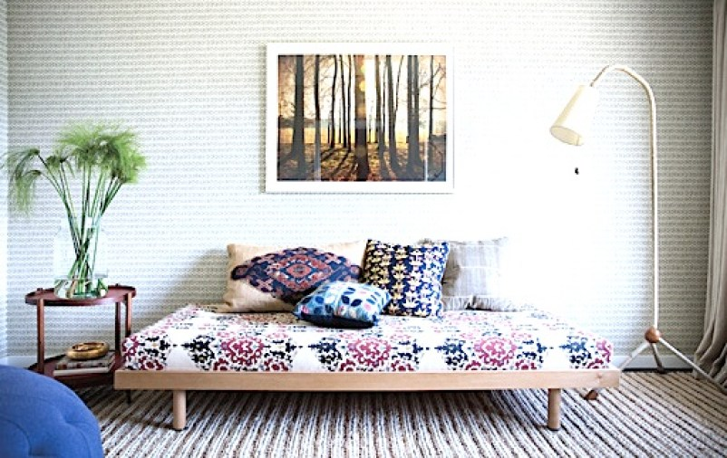daybed bohemian home decor Nickey Kehoe