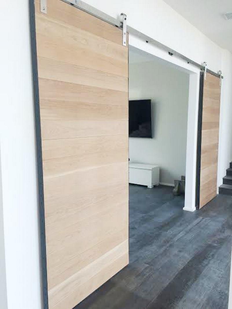 malibu interior barn doors library den cococozy 2 & Interior Barn Doors - Malibu Home Renovation