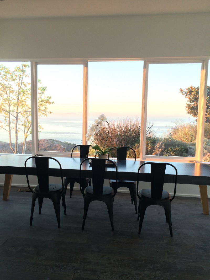 malibu dining room morning view cococozy