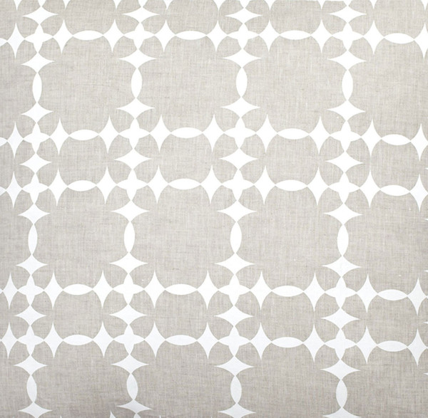 COCOCOZY Tower Court Natural Linen Fabric By the Yard