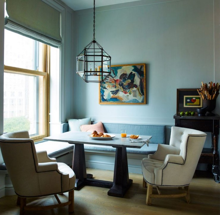 light-blue-breakfast-nook-dining-table-banquette-seating-cococozy-ericpiasecki